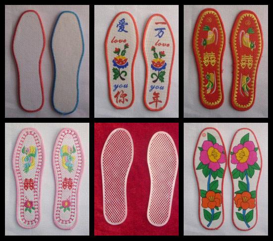 手工十字绣鞋垫特点